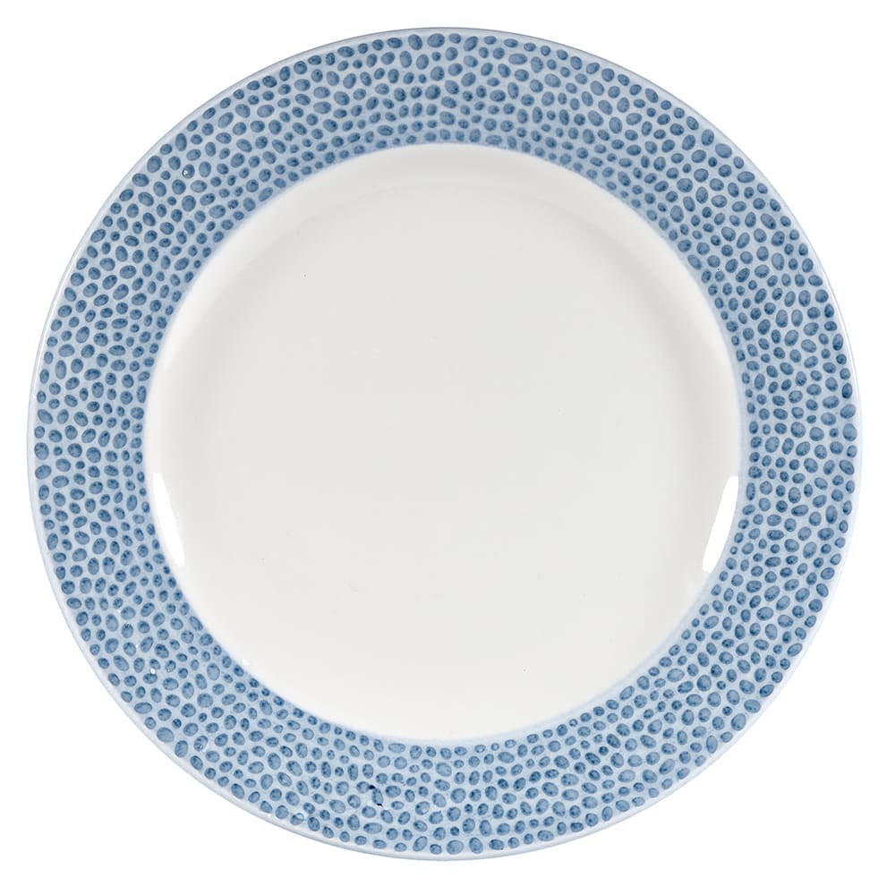 "Churchill OCISIP81 8-1/4"" Round Dinner Plate - China, Ocean Blue"