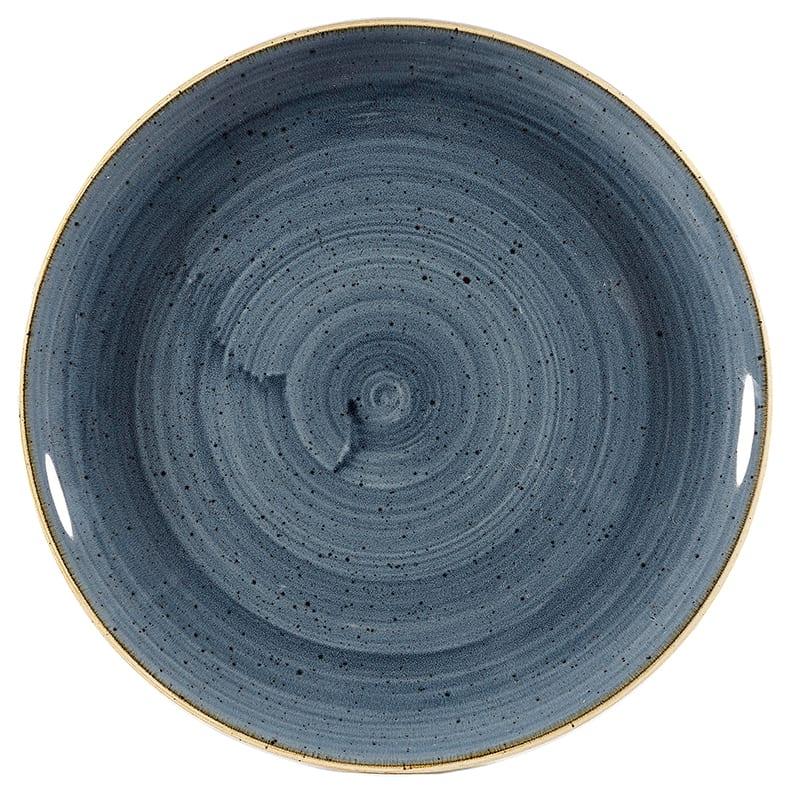 "Churchill SBBSEVP81 8.67"" Round Stonecast® Evolve Plate - Ceramic, Blueberry"