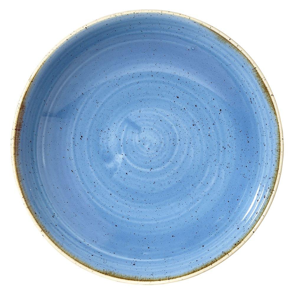 Churchill SCFSEVB71 15-oz Stonecast Bowl - Ceramic, Cornflower Blue