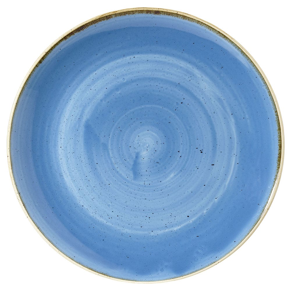 Churchill SCFSPLC21 84.5-oz Stonecast Bowl - Ceramic, Cornflower Blue