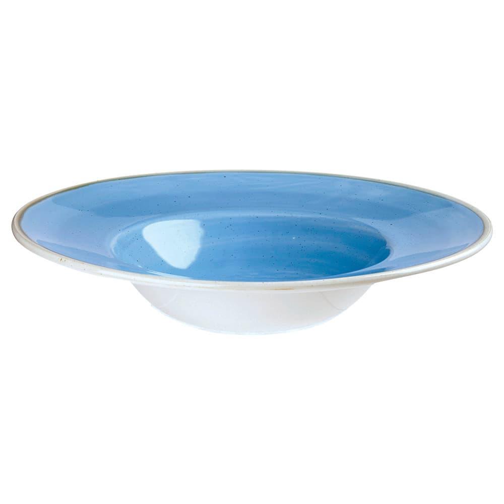 Churchill SCFSVWBM1 10-oz Stonecast Bowl - Ceramic, Cornflower Blue