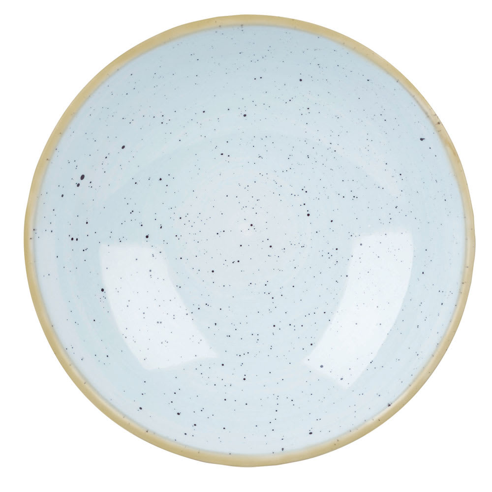Churchill SDESEVB71 15-oz Stonecast Bowl - Ceramic, Duck Egg Blue