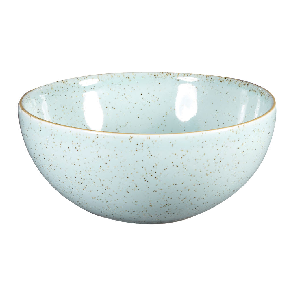 Churchill SDESNDBL1 37.8-oz Stonecast Noodle Bowl - Ceramic, Duck Egg Blue