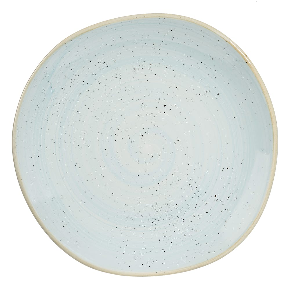 "Churchill SDESOG101 10.38"" Round Stonecast® Plate - Ceramic, Duck Egg Blue"