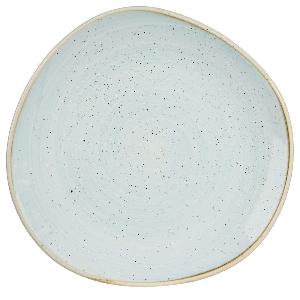 "Churchill SDESOG111 11.25"" Round Stonecast® Plate - Ceramic, Duck Egg Blue"