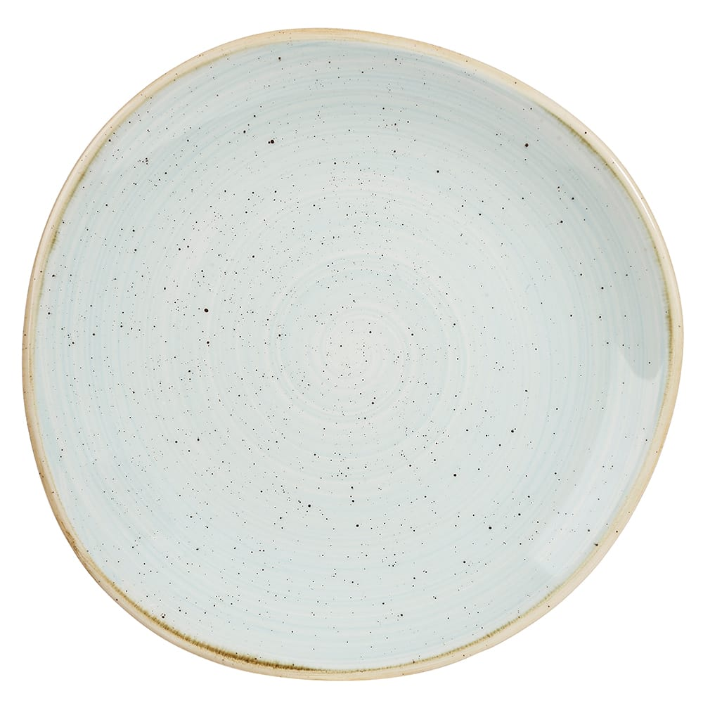 "Churchill SDESOG81 8.25"" Round Stonecast® Plate - Ceramic, Duck Egg Blue"