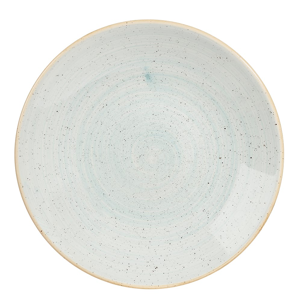 "Churchill SDESPD221 8.83"" Round Stonecast® Plate - Ceramic, Duck Egg Blue"