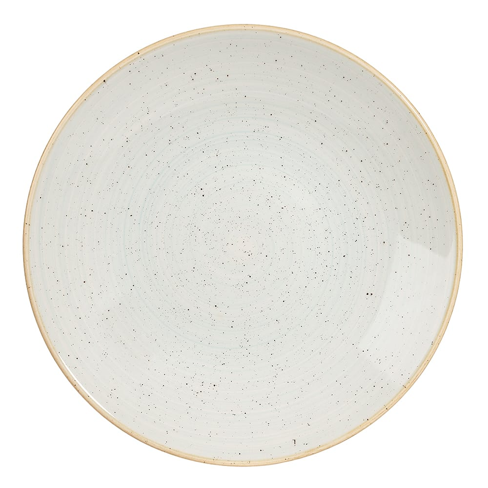 "Churchill SDESPD251 10"" Round Stonecast® Plate - Ceramic, Duck Egg Blue"
