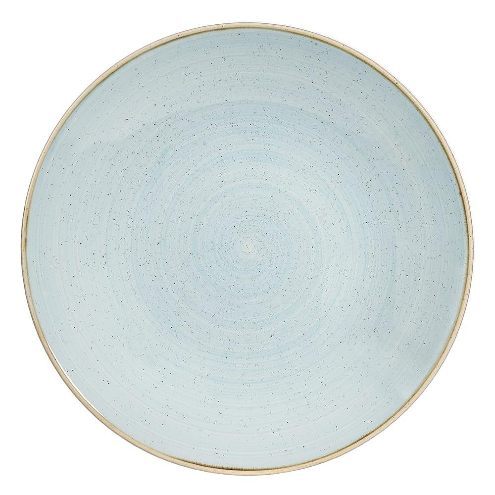 "Churchill SDESPD271 11"" Round Stonecast® Plate - Ceramic, Duck Egg Blue"