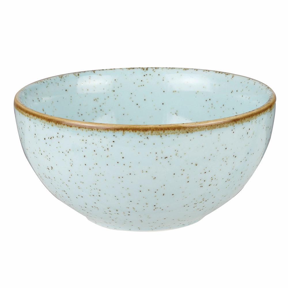 Churchill SDESRBL61 16-oz Stonecast Soup Bowl - Ceramic, Duck Egg Blue