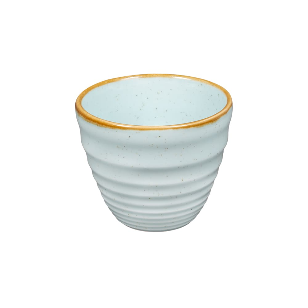 Churchill SDESRPCM1 10-oz Stonecast Ripple Chip Mug - Ceramic, Duck Egg Blue