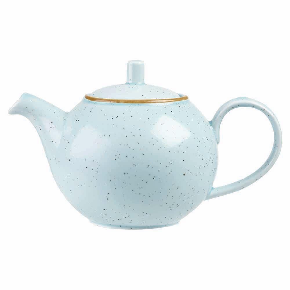 Churchill SDESSB151 15-oz Stonecast Teapot - Ceramic, Duck Egg Blue