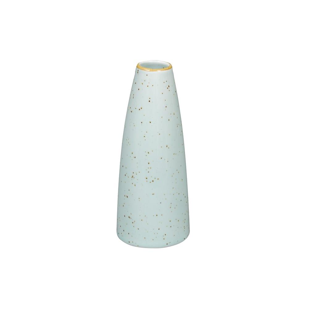 "Churchill SDESSBV1 5"" Stonecast Bud Vase - Ceramic, Duck Egg Blue"