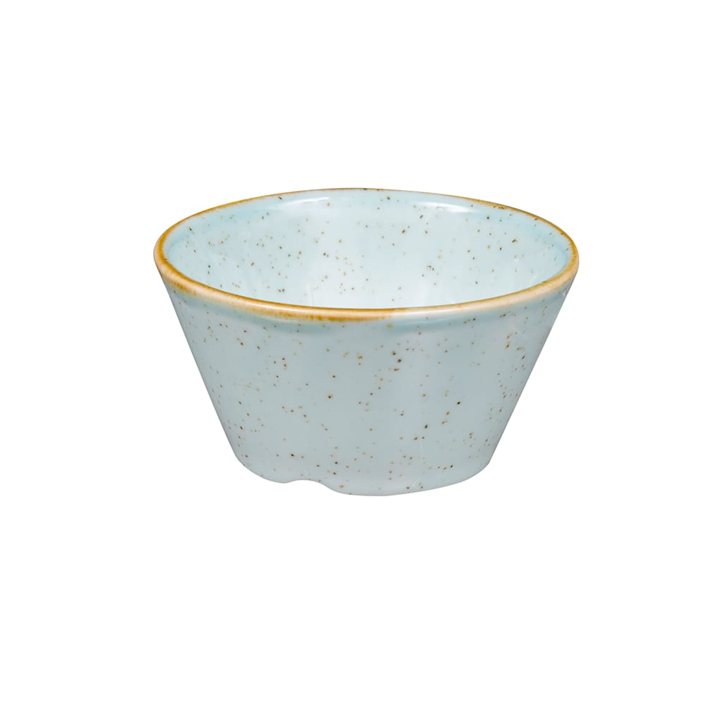 Churchill SDESSD31 3 oz Stonecast Sauce Dish - Ceramic, Duck Egg Blue