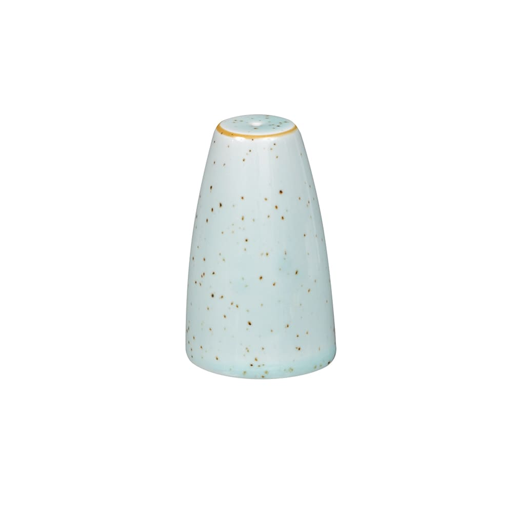 "Churchill SDESSSA1 2.5"" Stonecast Salt Shaker - Ceramic, Duck Egg Blue"