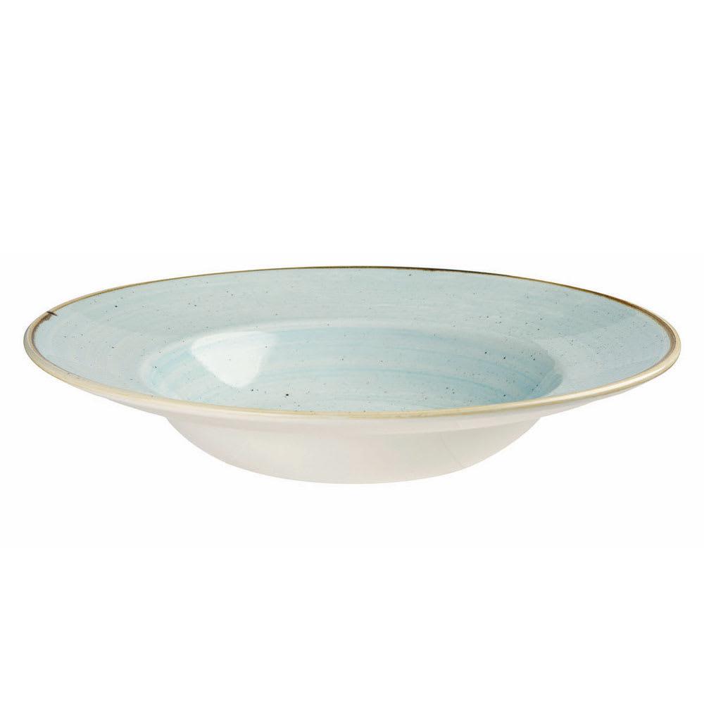 Churchill SDESVWBL1 16.5-oz Stonecast Bowl - Ceramic, Duck Egg Blue