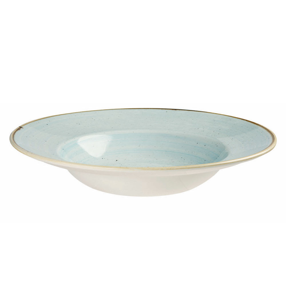 Churchill SDESVWBM1 10-oz Stonecast Bowl - Ceramic, Duck Egg Blue