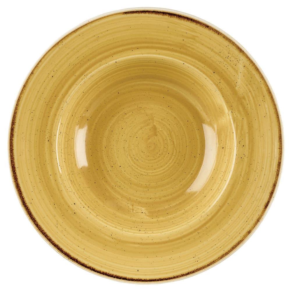 Churchill SMSSVWBM1 10-oz Stonecast Bowl - Ceramic, Mustard Seed Yellow