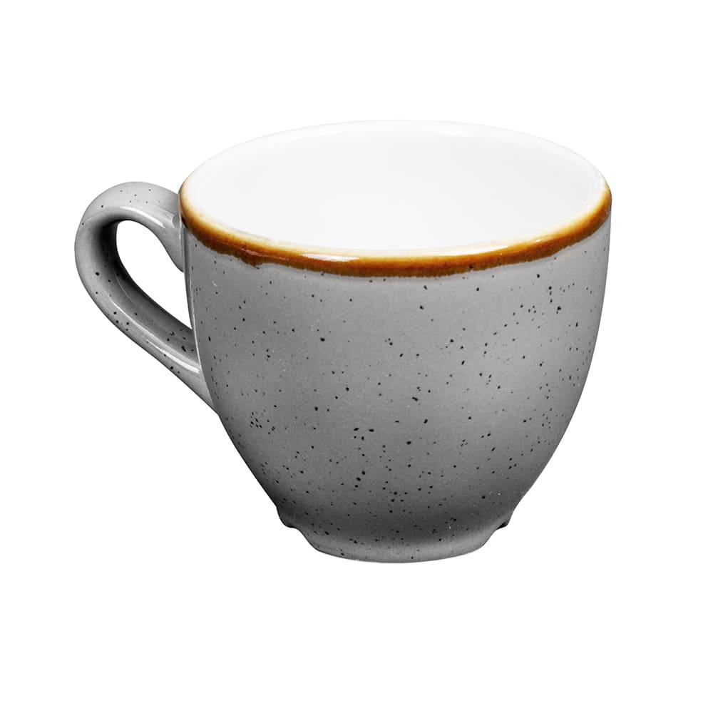 Churchill SPGSCEB91 3.5-oz Stonecast Espresso Cup - Ceramic, Peppercorn Gray