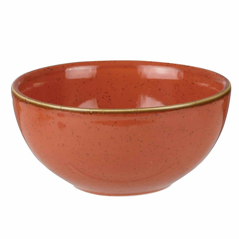 Churchill SSOSRBL61 16-oz Stonecast Soup Bowl - Ceramic, Spiced Orange