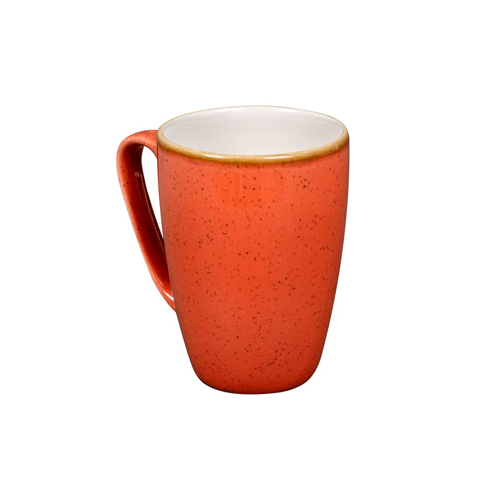 Churchill SSOSVM121 12-oz Stonecast Mug - Ceramic, Spiced Orange