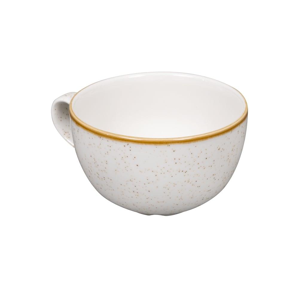 Churchill SWHSCB441 17.5-oz Stonecast Cappuccino Cup - Ceramic, Barley White