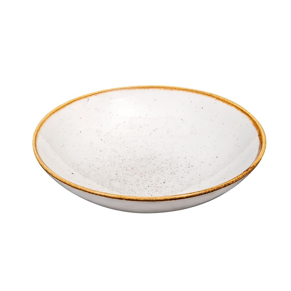 Churchill SWHSEVB71 15 oz Stonecast Bowl - Ceramic, Barley White