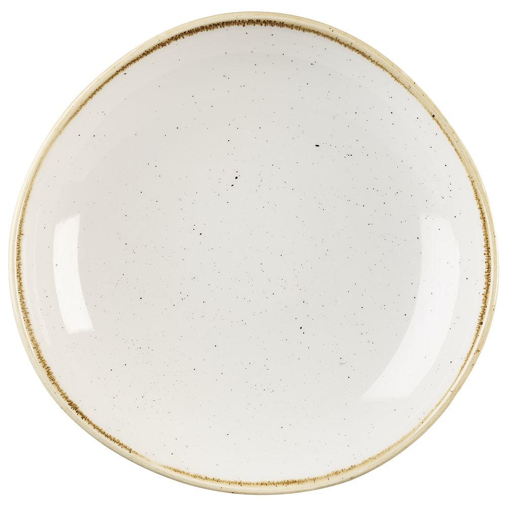 Churchill SWHSOGB11 38 oz Stonecast Bowl - Ceramic, Barley White