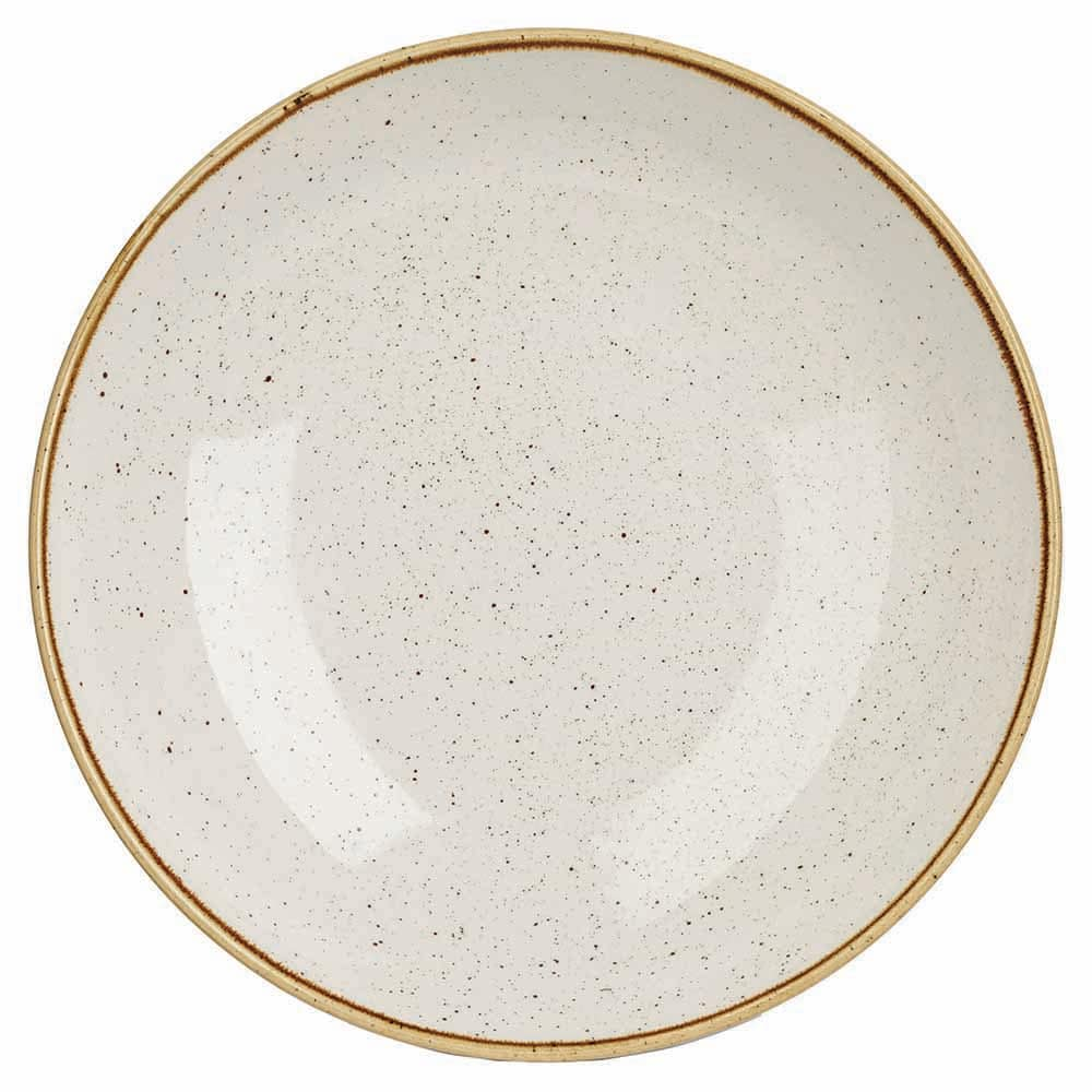 Churchill SWHSPLC21 84.5-oz Stonecast Bowl - Ceramic, Barley White