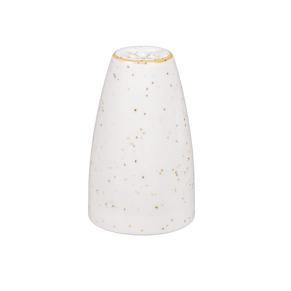 """Churchill SWHSSPE1 2.5"""" Stonecast Pepper Shaker - Ceramic, Barley White"""