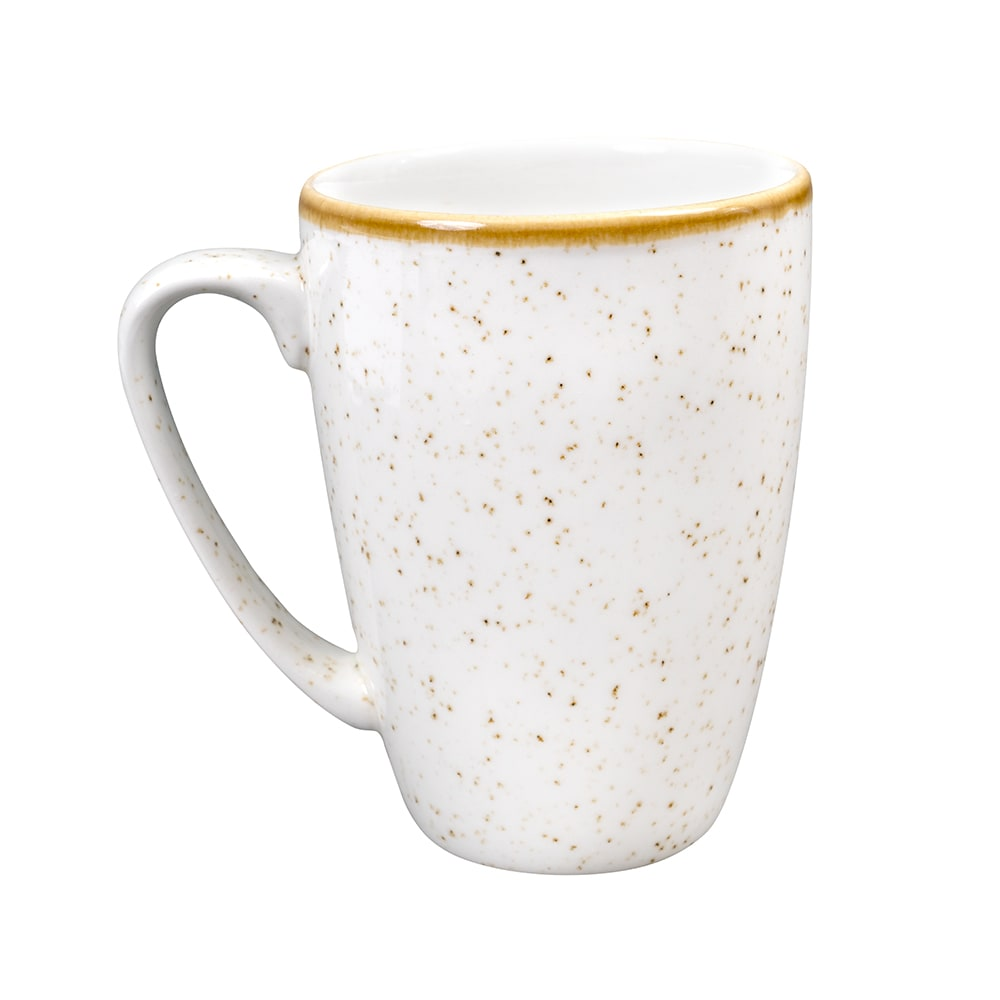 Churchill SWHSVM121 12-oz Stonecast Mug - Ceramic, Barley White