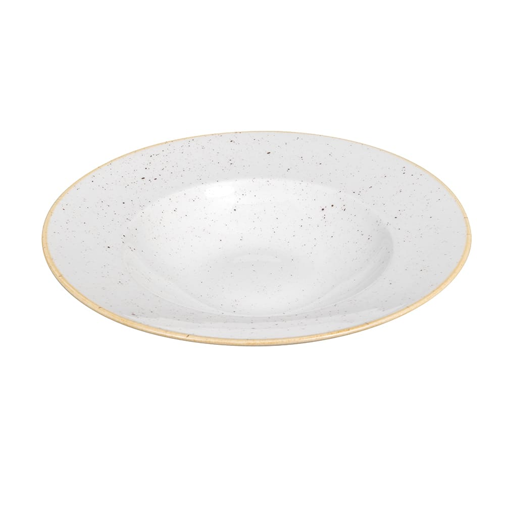 Churchill SWHSVWBL1 16.5 oz Stonecast Bowl - Ceramic, Barley White