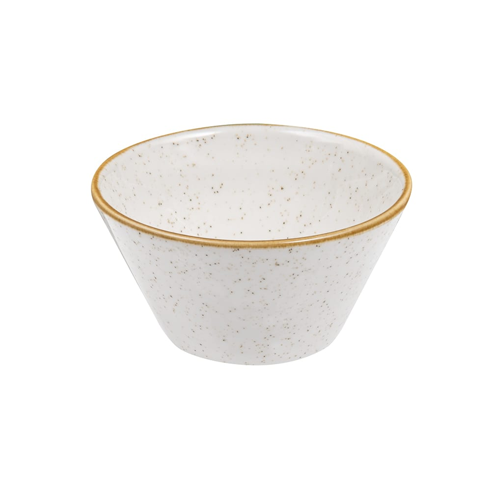 Churchill SWHSZE121 12 oz Stonecast Zest Bowl - Ceramic, Barley White