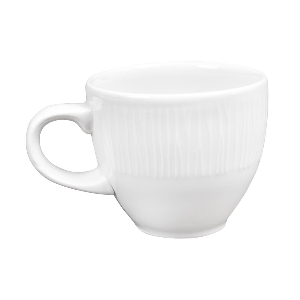 Churchill WHBALE31 3.5-oz Bamboo Cup - Ceramic, White