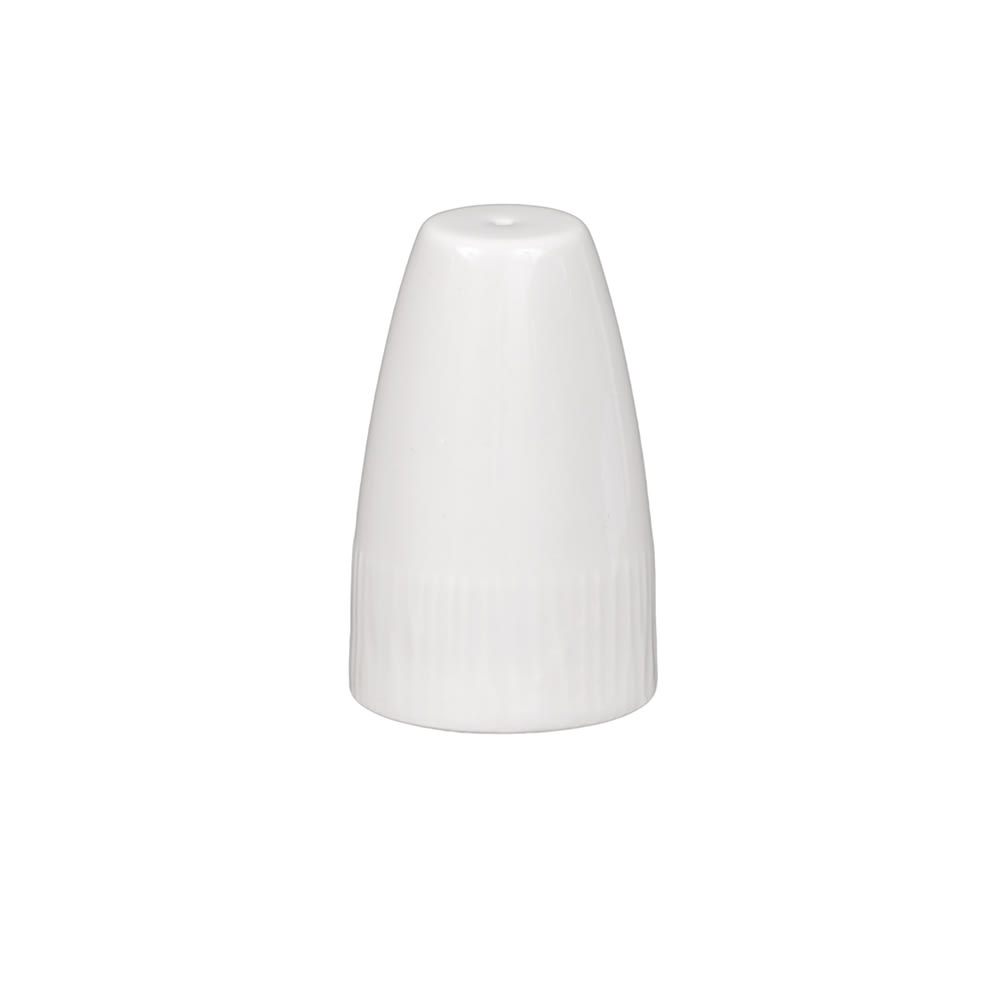 "Churchill WHBALSA1 2.5"" Stonecast Salt Shaker - Ceramic, White"