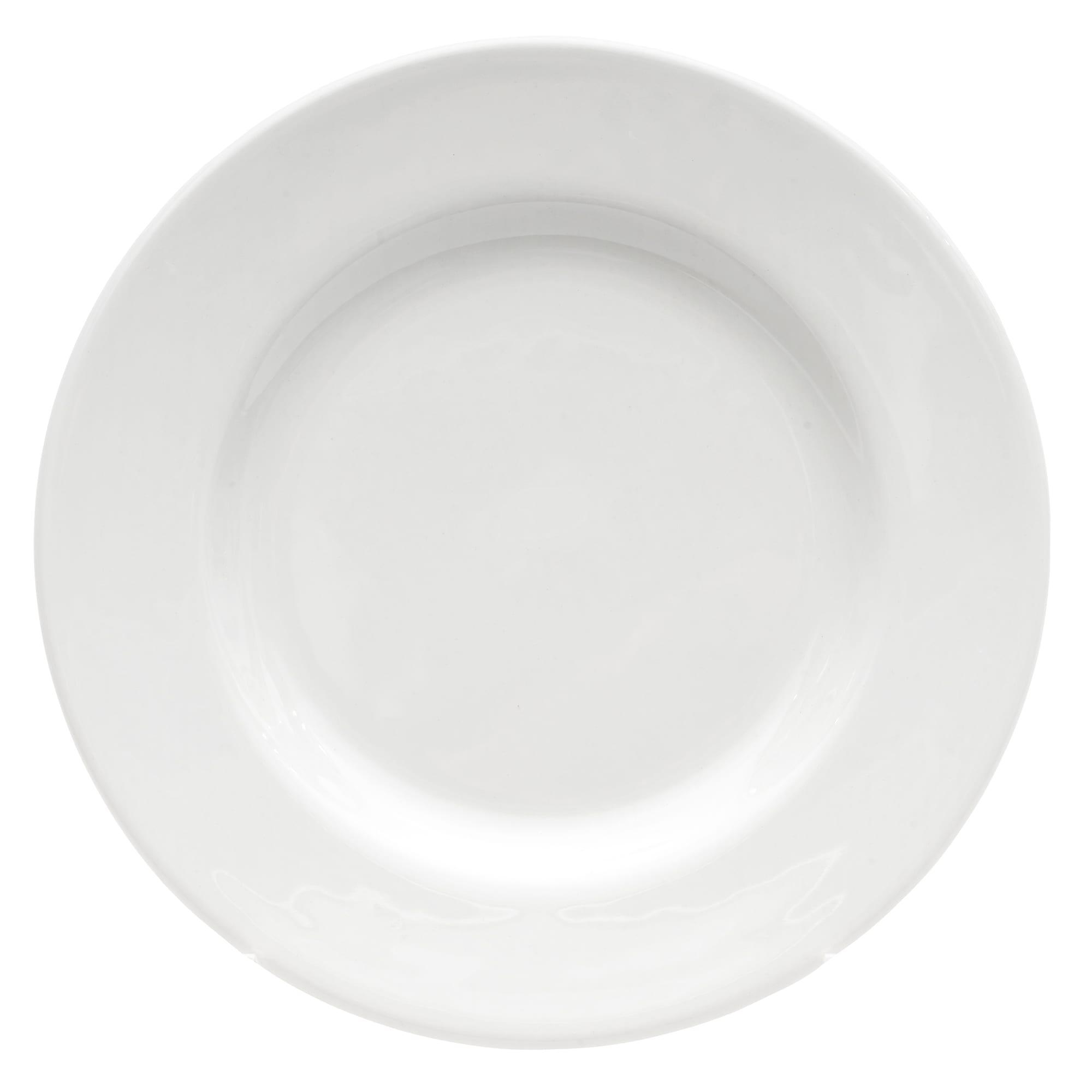 """Churchill WHCP651 6.5"""" Round Classic Plate - Ceramic, White"""