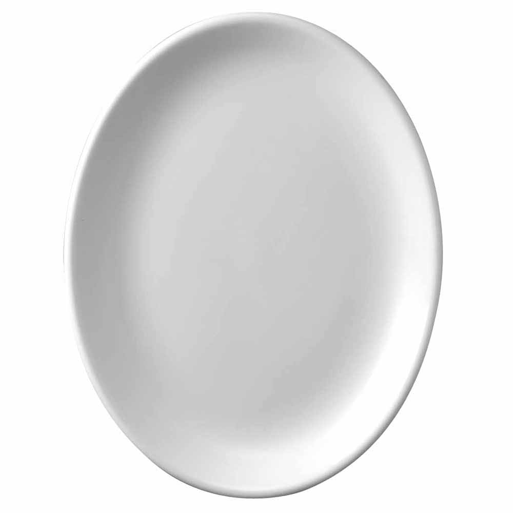 "Churchill WHD131 13.25"" Oval Platter - Ceramic, White"