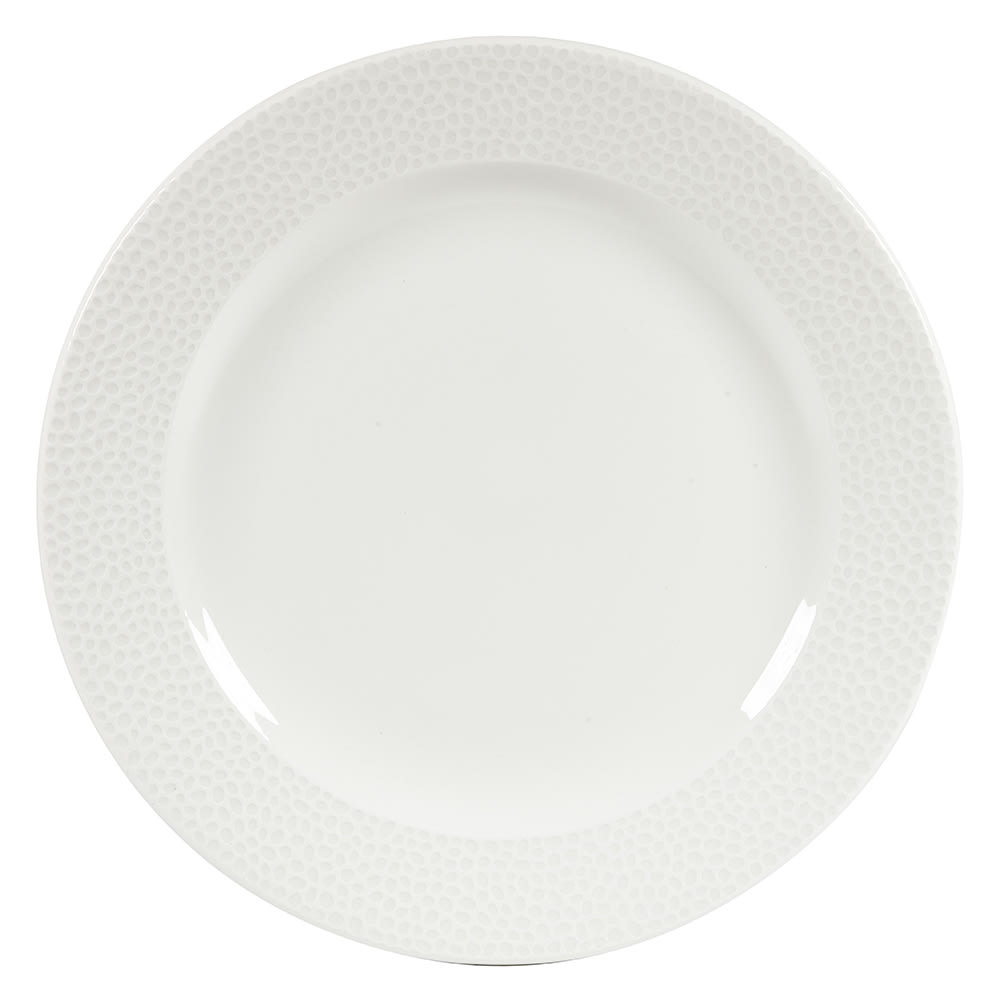 "Churchill WHISIF101 10-1/4"" Round Dinner Plate - China, White"