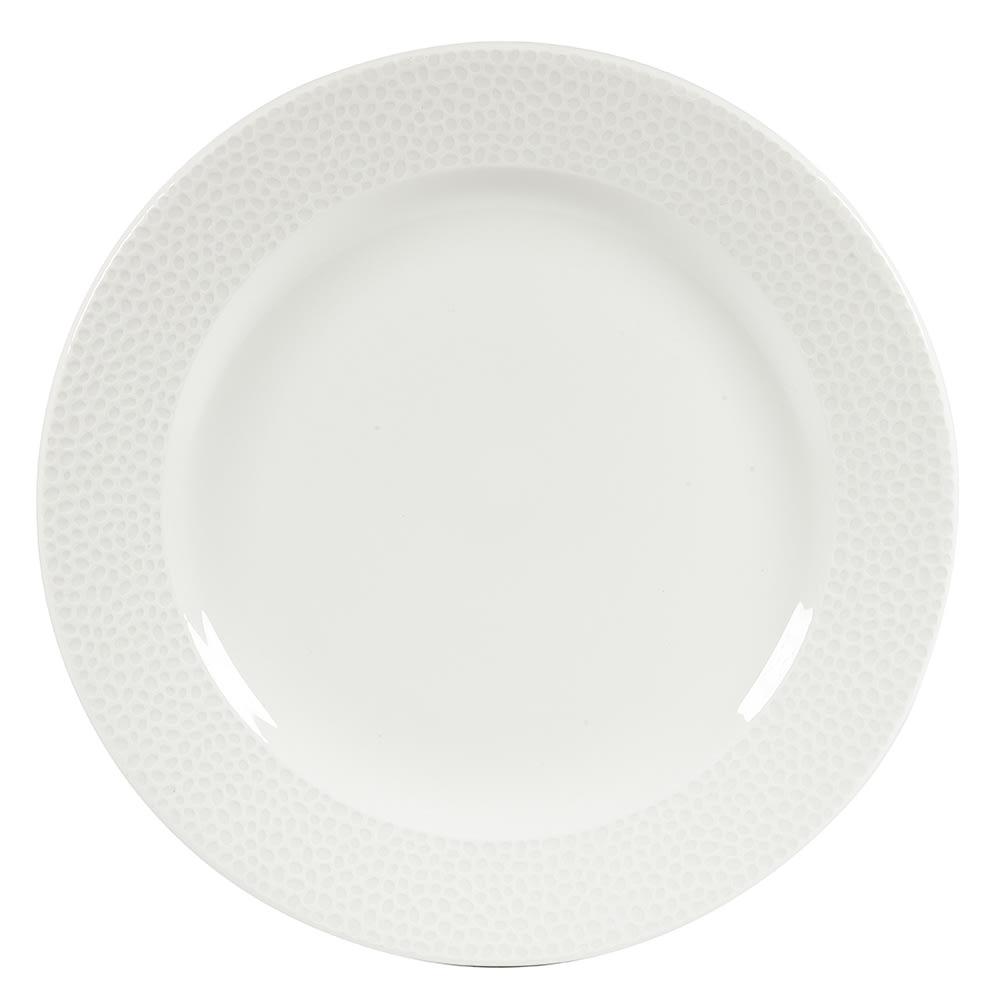 """Churchill WHISIF111 12"""" Round Dinner Plate - China, White"""