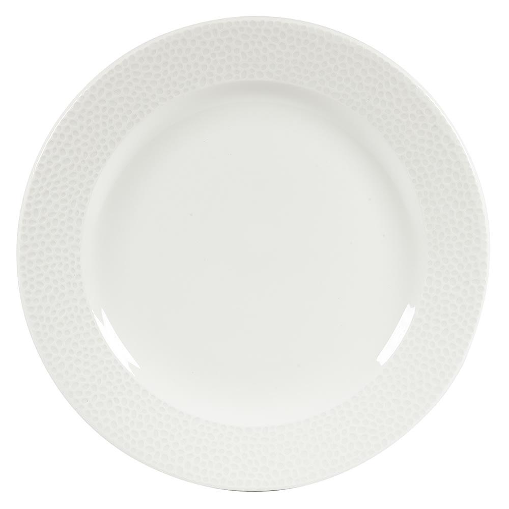 """Churchill WHISIF91 9-1/8"""" Round Dinner Plate - China, White"""