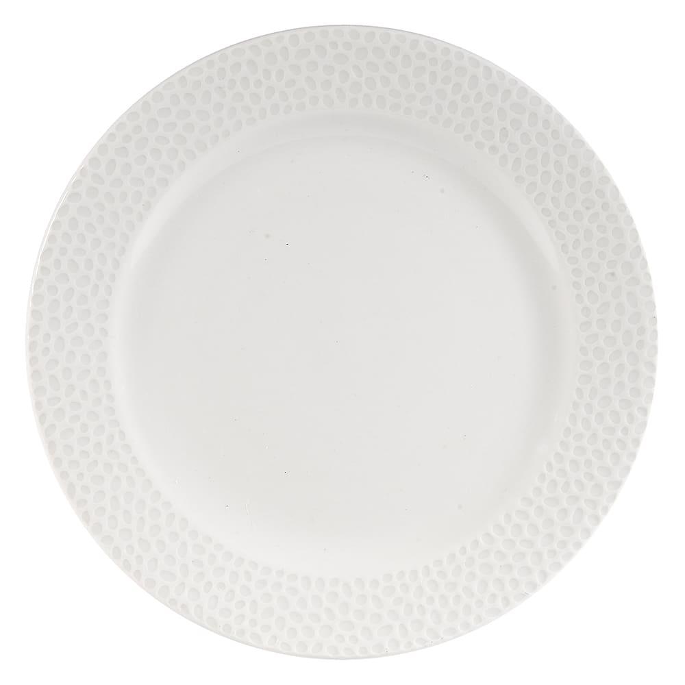 """Churchill WHISIP651 6-5/8"""" Round Dinner Plate - China, White"""