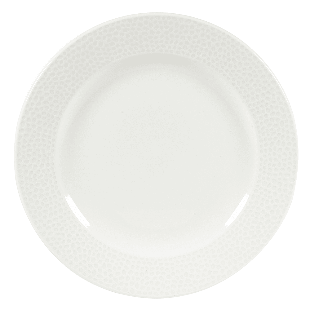 "Churchill WHISIP81 8-1/4"" Round Dinner Plate - China, White"