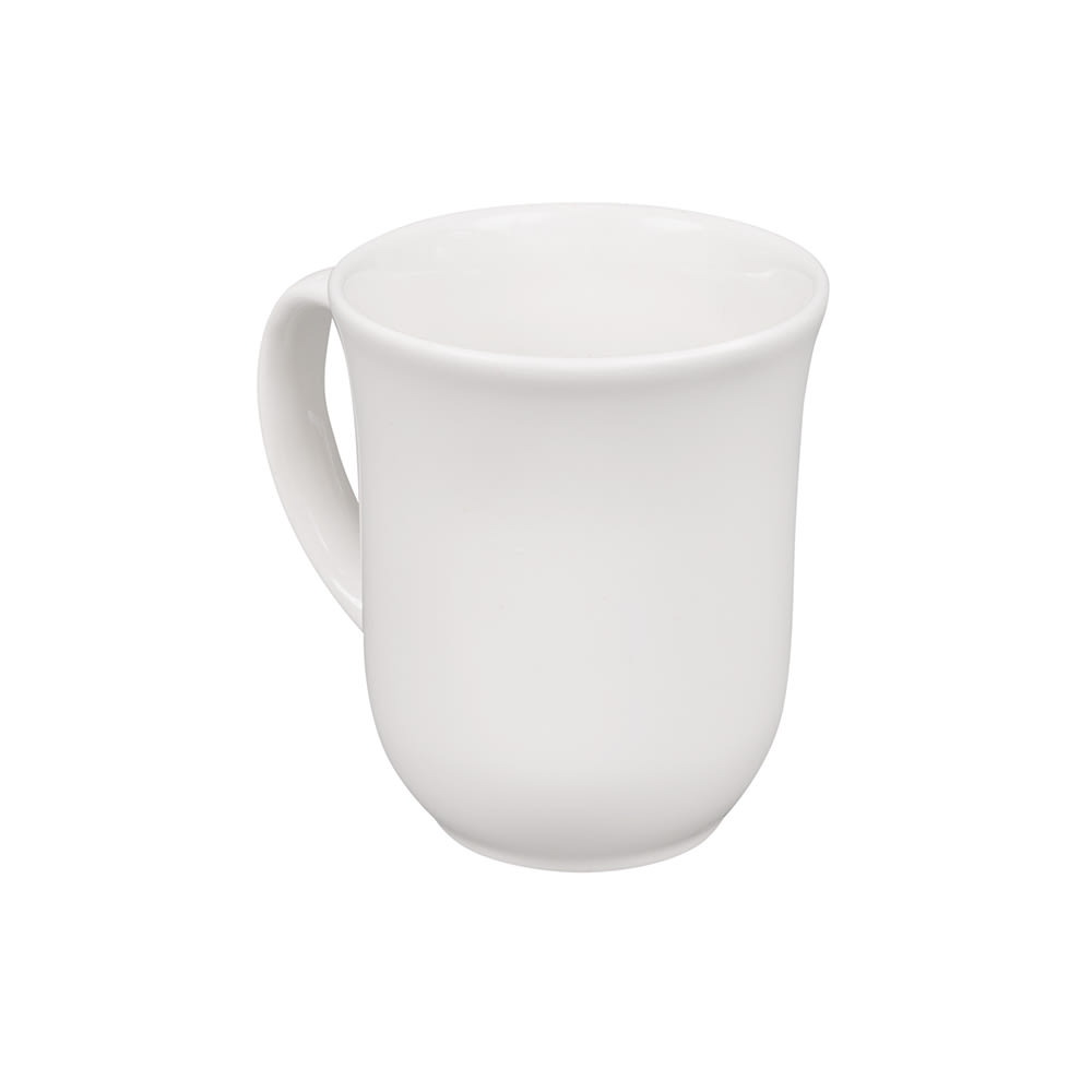 Churchill WHME1 10 oz Elegant Mug - Ceramic, White