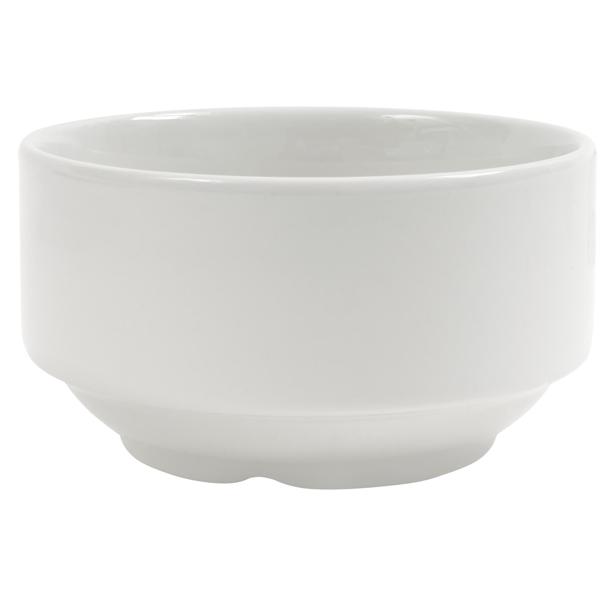 Churchill WHNSU1 14 oz Soup Bowl - Ceramic, White