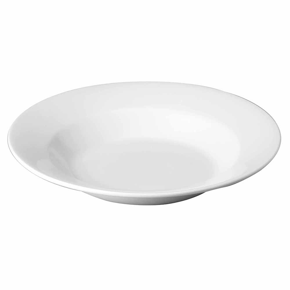 "Churchill WHRPP1 11.75"" Round Classic Pasta Plate - Ceramic, White"