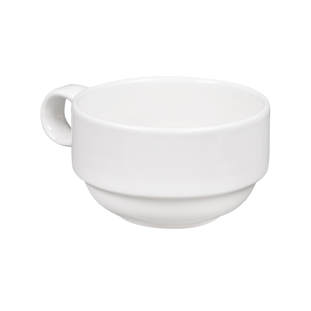 Churchill WHVC201 7-oz Profile Cup - Ceramic, White