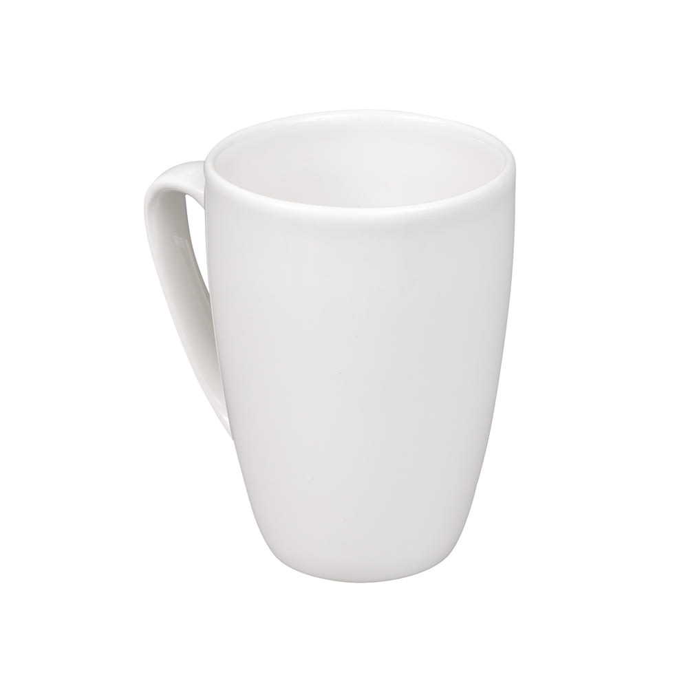 Churchill WHVM121 12-oz Profile Mug - Ceramic, White