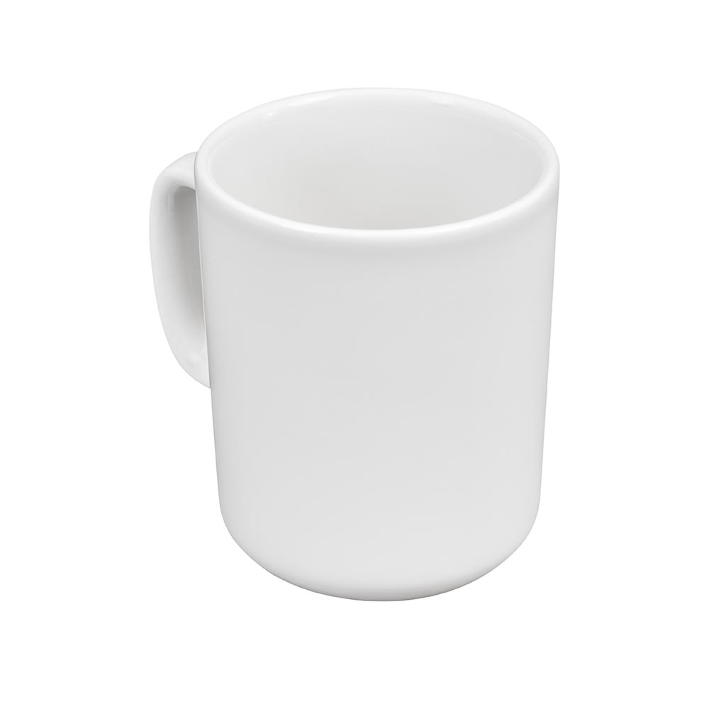 Churchill WHVMW1 10-oz Profile Mug - Ceramic, White
