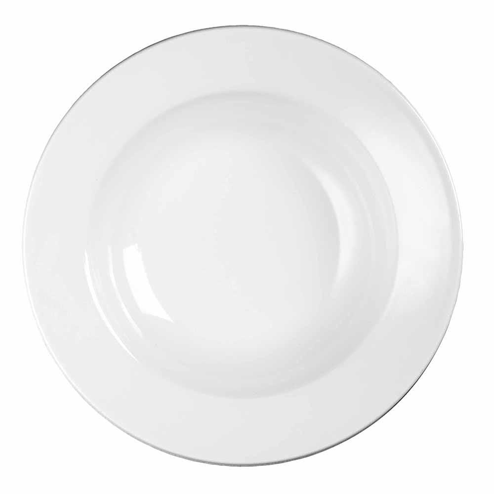 Churchill WHVRSB1 17.5-oz Profile Soup Bowl - Ceramic, White