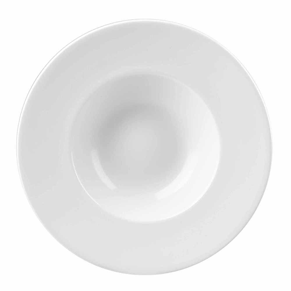Churchill WHVWBM1 10-oz Profile Bowl - Ceramic, White
